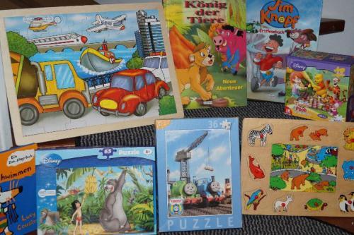 Die Büchersammlung für unsere kleinen Gäste
